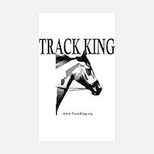Track King Rectangle Sticker 10 pk)