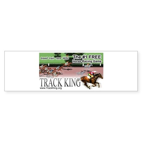 Track King Sticker (Bumper)