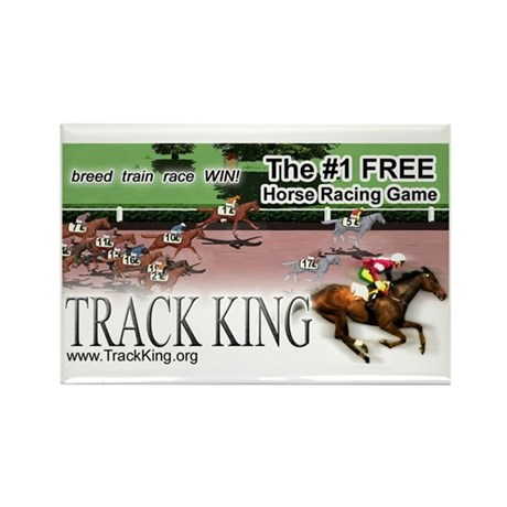Track King Rectangle Magnet (10 pack)