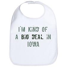Big deal in Iowa Bib