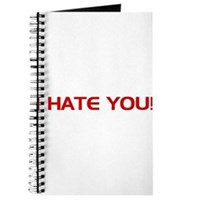 I Hate You! Journal