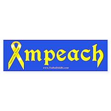 Yellow Ribbon Impeach Bumper Bumper Sticker