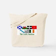 Celtic Nations Tote Bag