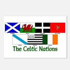 Celtic Nations Postcards (Package of 8)