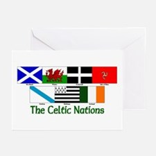Celtic Nations Greeting Cards (Pk of 10)
