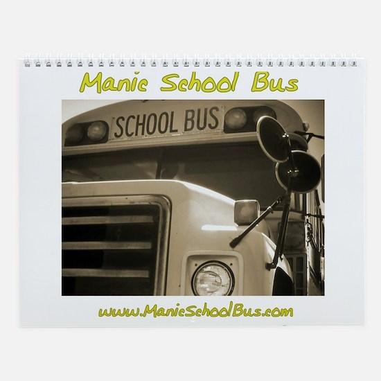 Manic School Bus Calendar