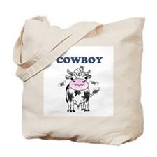 Cowboys, or funny cow product Tote Bag