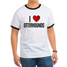 I LOVE OTTERHOUNDS T