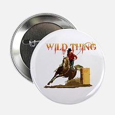 """Wild Barrel cowgirls 2.25"""" Button"""