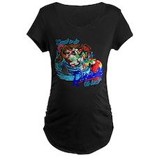 Cawt in da Riptide copy Maternity T-Shirt