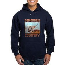 Longhorn country Hoodie