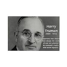 President Harry Truman Rectangle Magnet