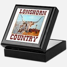 Longhorn country Keepsake Box