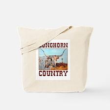 Longhorn country Tote Bag