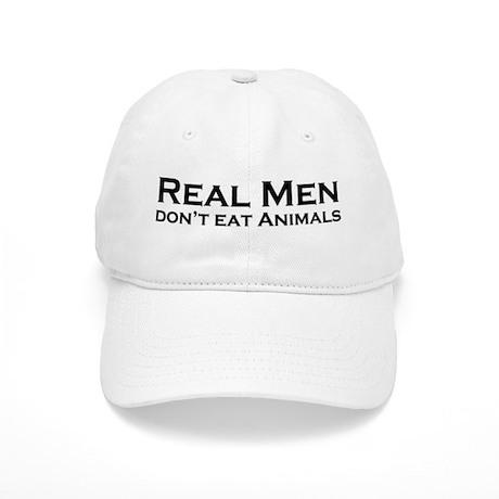 Real Men Vegan Cap
