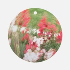 Fancy Flowers Ornament (Round)