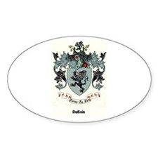 Coat-of-Arms Oval Sticker (10 pk)