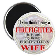 Firefighters Wife Magnet