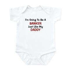 Banker - Daddy - Profession Infant Bodysuit