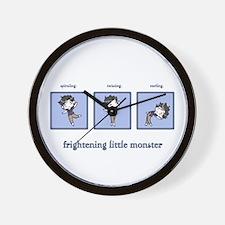 Frightening Little Monster Wall Clock