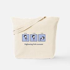 Frightening Little Monster Tote Bag