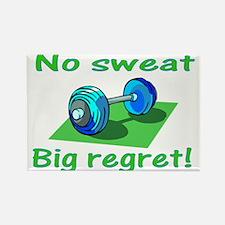 Sweat Rectangle Magnet