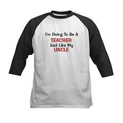 Teacher - Uncle - Profession Kids Baseball Jersey