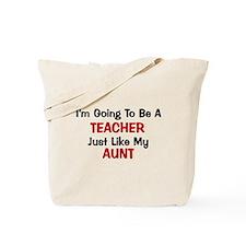 Teacher - Aunt - Profession Tote Bag