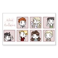 Cullens Rectangle Stickers
