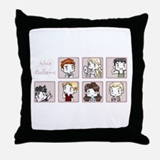 Cullens Throw Pillow