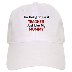 Teacher Mommy Profession Baseball Cap