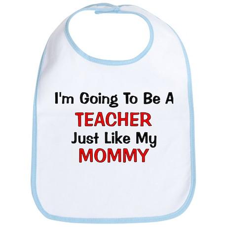 Teacher Mommy Profession Bib