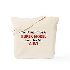 Super Model Aunt Profession Tote Bag