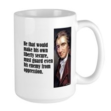 "Paine ""His Own Liberty"" Mug"