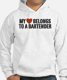 My Heart Belongs to a Bartender Jumper Hoody