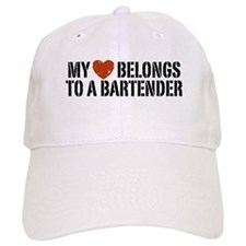 My Heart Belongs to a Bartender Baseball Cap