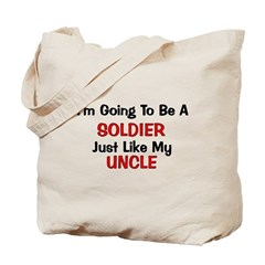 Soldier Uncle Profession Tote Bag