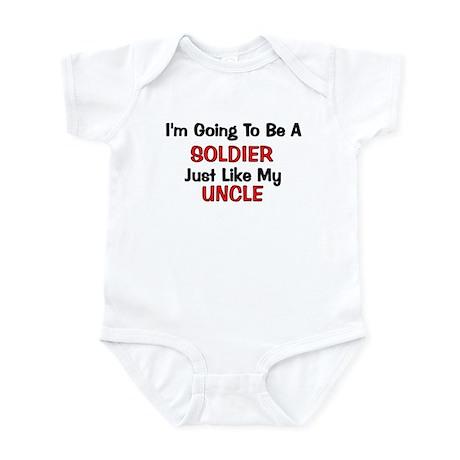 Soldier Uncle Profession Infant Bodysuit