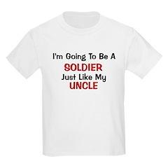 Soldier Uncle Profession T-Shirt