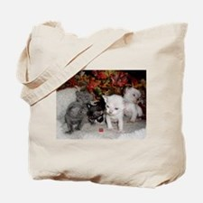 Movieland Devon Rex Kitten Tote Bag