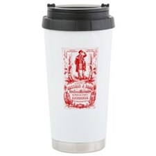 Cool Retro bagpipes Travel Mug