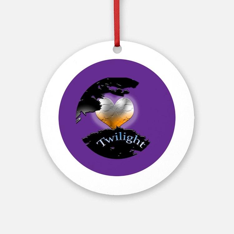 Twilight New Moon Ornament (Round)