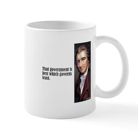 """Paine """"Governs Least"""" Mug"""