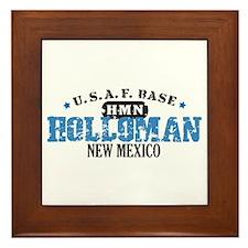Holloman Air Force Base Framed Tile