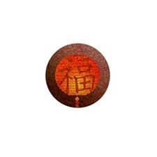Paper Lantern Mini Button