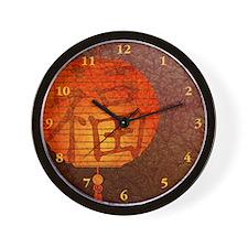 Paper Lantern Wall Clock