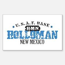 Holloman Air Force Base Rectangle Sticker 10 pk)
