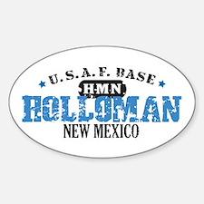 Holloman Air Force Base Oval Decal