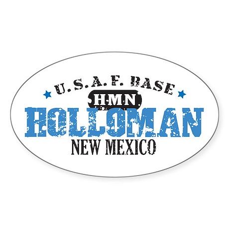 Holloman Air Force Base Oval Sticker