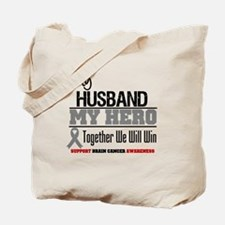 BrainCancerHero Husband Tote Bag